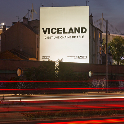 VICELAND version XXL sur l'A1 STADE
